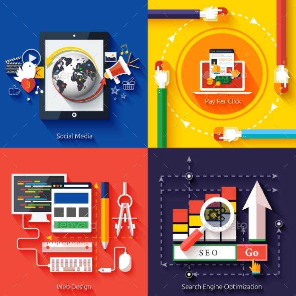 GraphicRiver Icons for Web Design Seo Social Media 9031389