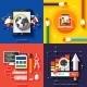 Icons for Web Design Seo Social Media - GraphicRiver Item for Sale