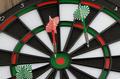 Dart board with darts - PhotoDune Item for Sale