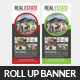 Real Estate Rollup Banner Psd Template - GraphicRiver Item for Sale
