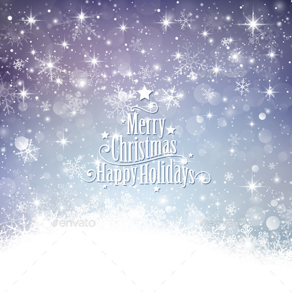 GraphicRiver Christmas Background 9031506