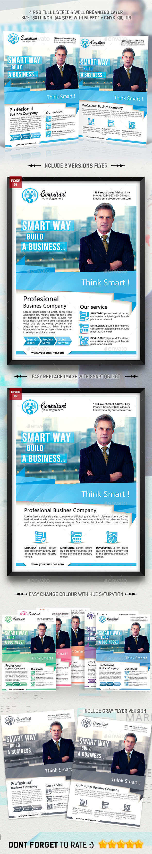 GraphicRiver Business Flyer Template 9031666