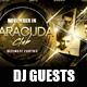 DJ Guests Flyer - GraphicRiver Item for Sale