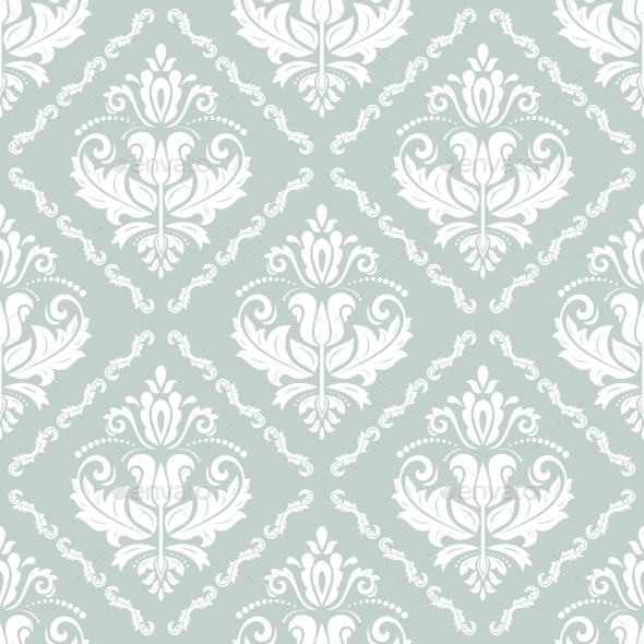 GraphicRiver Damask Seamless Vector Pattern 9031789