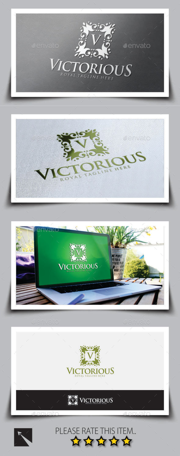 GraphicRiver Victorious Logo Template 9031945