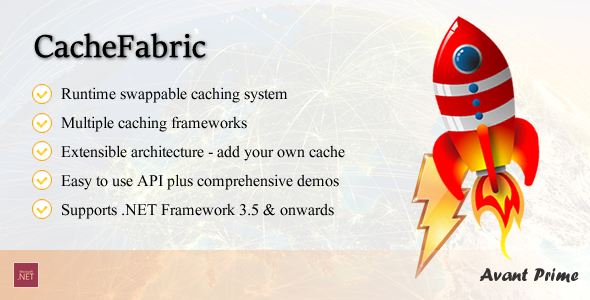 CacheFabric Dynamic Swappable Caching Framework