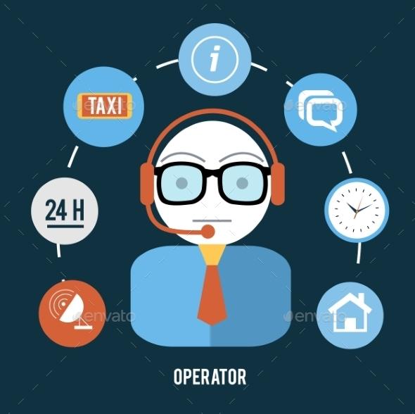 GraphicRiver Support Operator 9031990