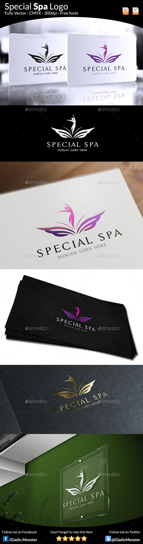 GraphicRiver Special Spa Salon Logo 9032002