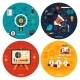 Icons for Marketing Management and Analytics - GraphicRiver Item for Sale
