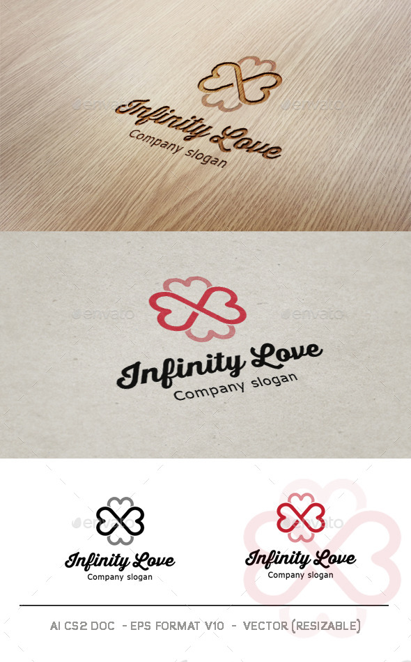 GraphicRiver Infinity Love Logo 9026121