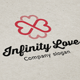 Infinity Love Logo - GraphicRiver Item for Sale