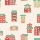 Vector Flat Houses - GraphicRiver Item for Sale