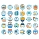 Business and Marketing Items Icons - GraphicRiver Item for Sale