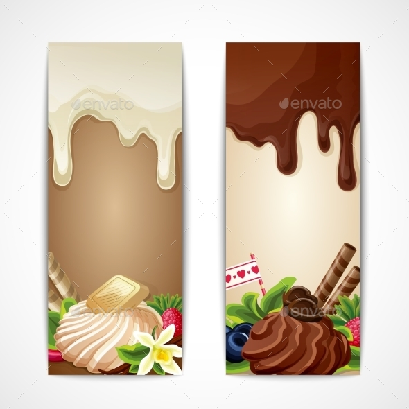 GraphicRiver Chocolate Banners Vertical 9032612