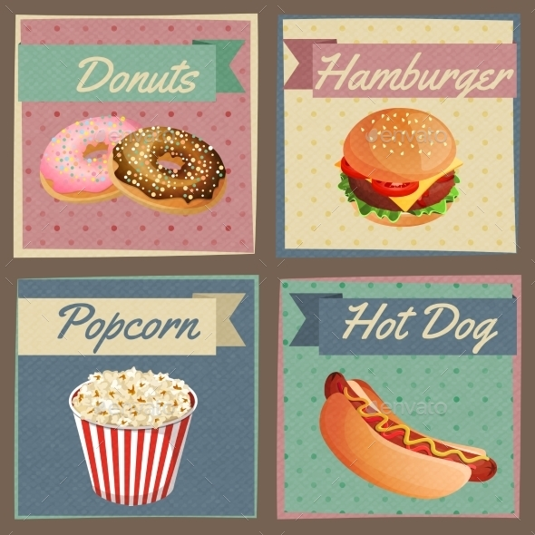 GraphicRiver Fast Food Menu Cards 9032616