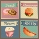 Fast Food Menu Cards - GraphicRiver Item for Sale