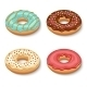 Donut Dessert Set - GraphicRiver Item for Sale