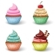 Sweet Cupcake Set - GraphicRiver Item for Sale