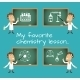 Chemistry Lesson Chalkboards - GraphicRiver Item for Sale