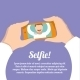 Selfie Self Portrait Poster - GraphicRiver Item for Sale