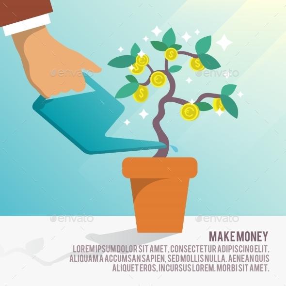 GraphicRiver Money Tree Water 9032697