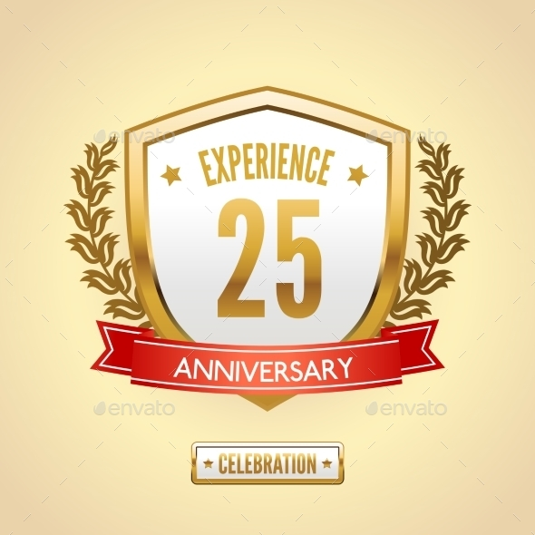 GraphicRiver Anniversary Label Shield 9032758