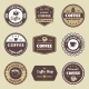 Coffee Label Set - GraphicRiver Item for Sale