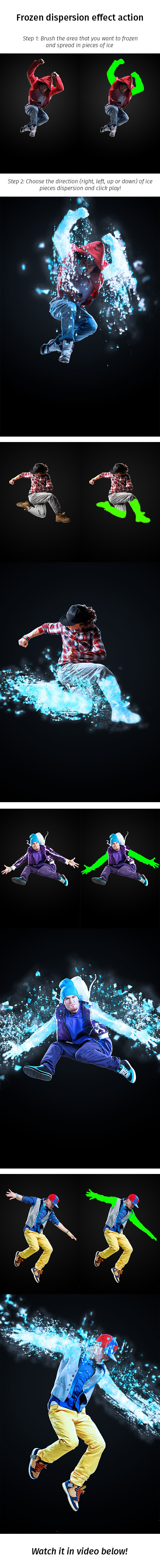 GraphicRiver Frozen Dispersion Effect Action 9032940