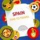 Spain Background Template - GraphicRiver Item for Sale
