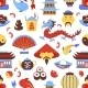 China Seamless Pattern - GraphicRiver Item for Sale