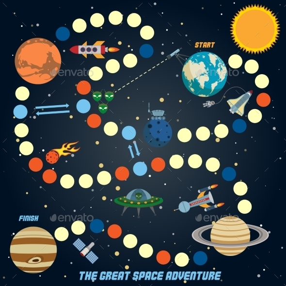 GraphicRiver Space Quest Game 9032992