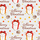 Christmas Seamless Pattern with Gift - GraphicRiver Item for Sale