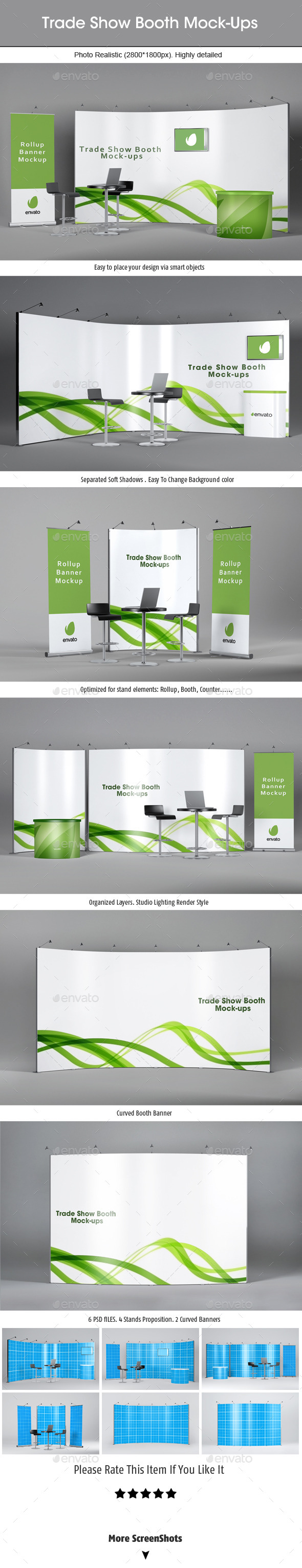 GraphicRiver Trade Show Booth Mockups v2 9032999