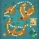 Pirates Treasure Island Game - GraphicRiver Item for Sale