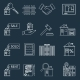 Real Estate Outline Icons - GraphicRiver Item for Sale