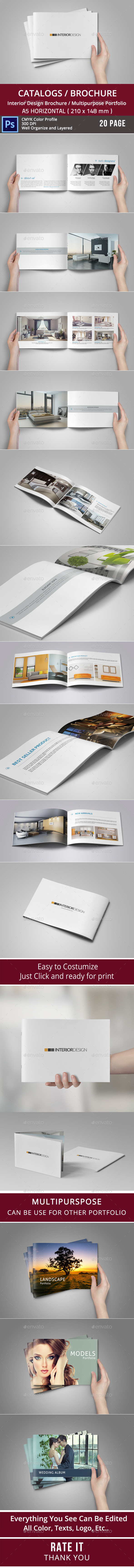 GraphicRiver Multipurpose Brochure or Portfolio Album 9033229