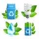 Ecology and Waste Icon Set - GraphicRiver Item for Sale