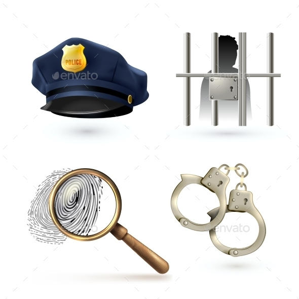 GraphicRiver Law Icons Set 9033780