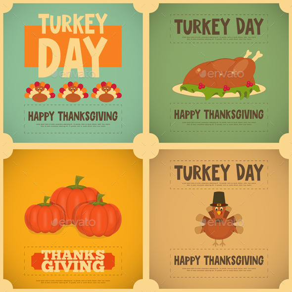 GraphicRiver Thanksgiving Day 9033807