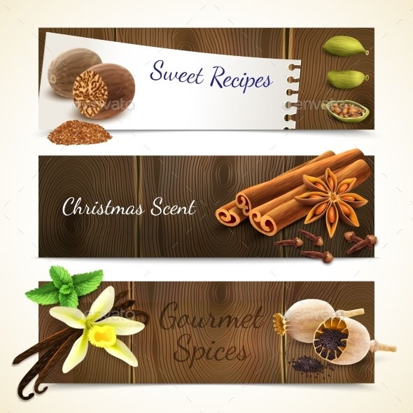 GraphicRiver Spices Banners Horizontal 9033808