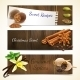 Spices Banners Horizontal - GraphicRiver Item for Sale