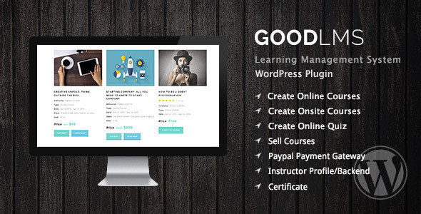 Please note that WordPress theme that being used in preview is CleverCourse WordPress theme. It's only demonstration purpose and not included in this plug