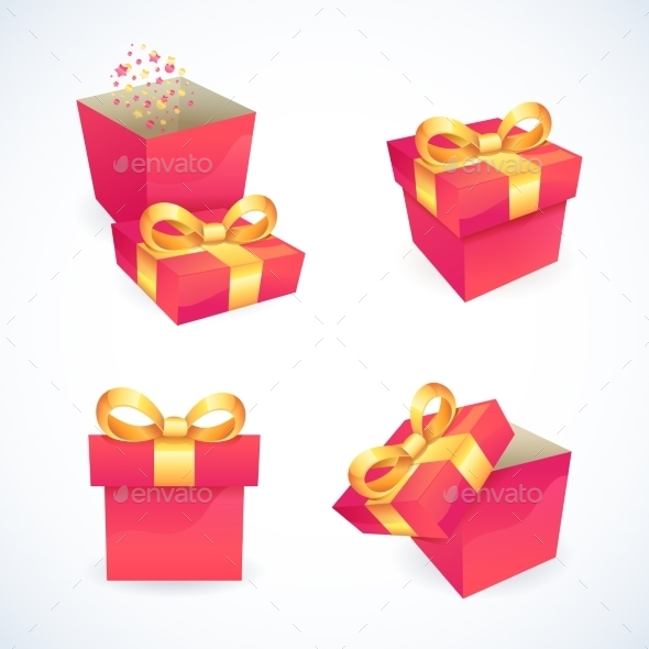 GraphicRiver Box and Package Icons 9033855