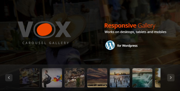 CodeCanyon Vox Carousel Gallery for Wordpress 9033967