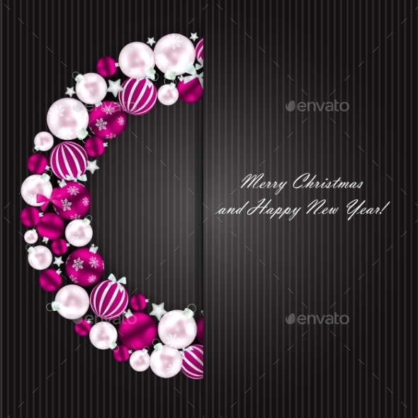 GraphicRiver Abstract Beauty Christmas and New Year Background 9033989
