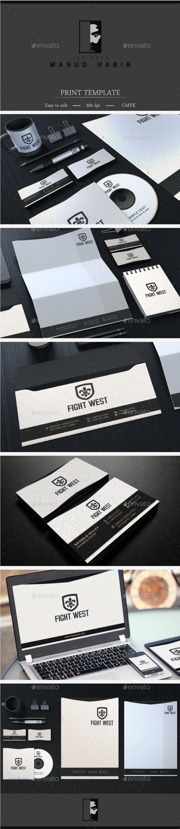 GraphicRiver Creative Corporate Identity 24 9034021