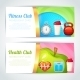 Fitness Club Card Design - GraphicRiver Item for Sale
