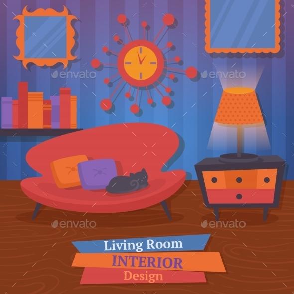 GraphicRiver Interior Design Sofa 9034108