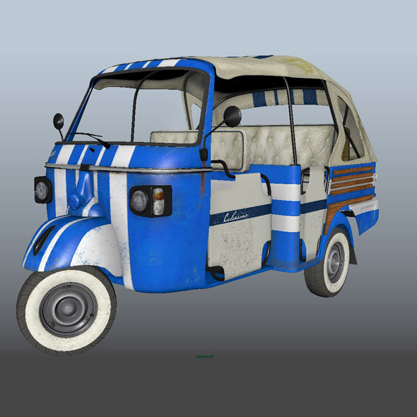 Tuk Tuk - 3DOcean Item for Sale