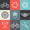 Hipster bicycle logo templates - PhotoDune Item for Sale